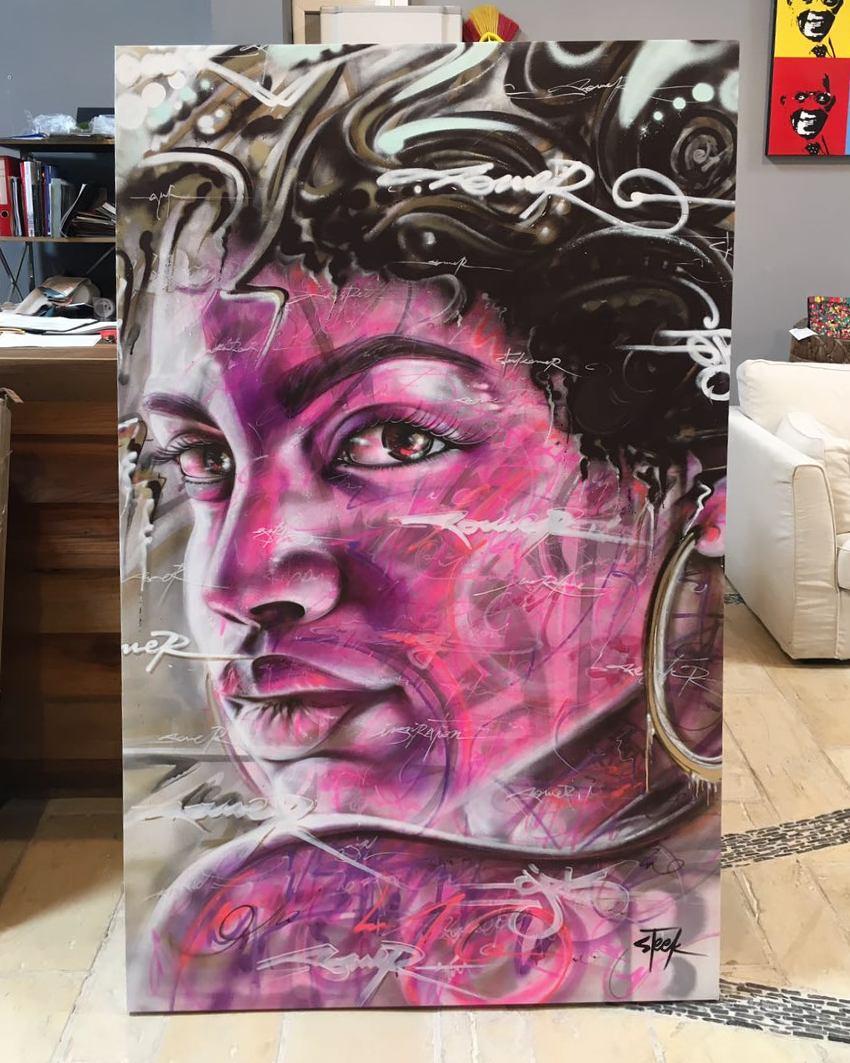 Steek Artiste Graffeur Steekoner Bodypainter Bodypainting