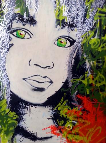 STEEK Canvas – I am looking 90×120