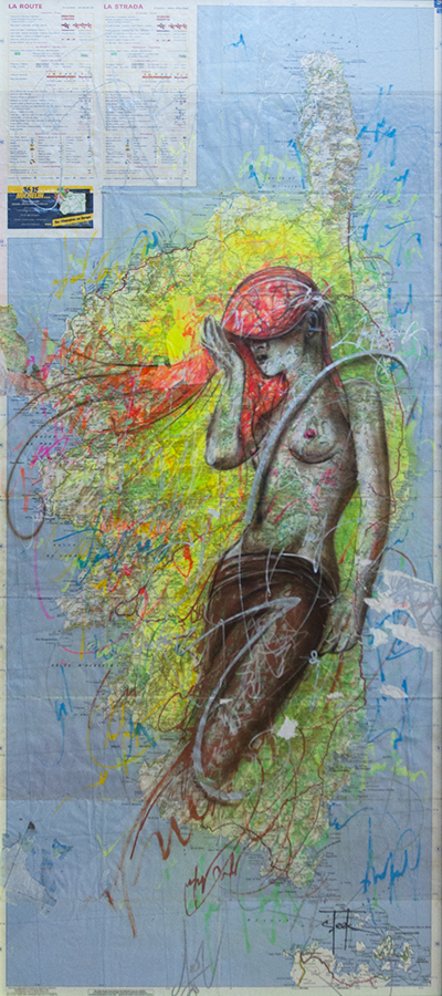 STEEK Canvas – Nude Princess 60x100cm