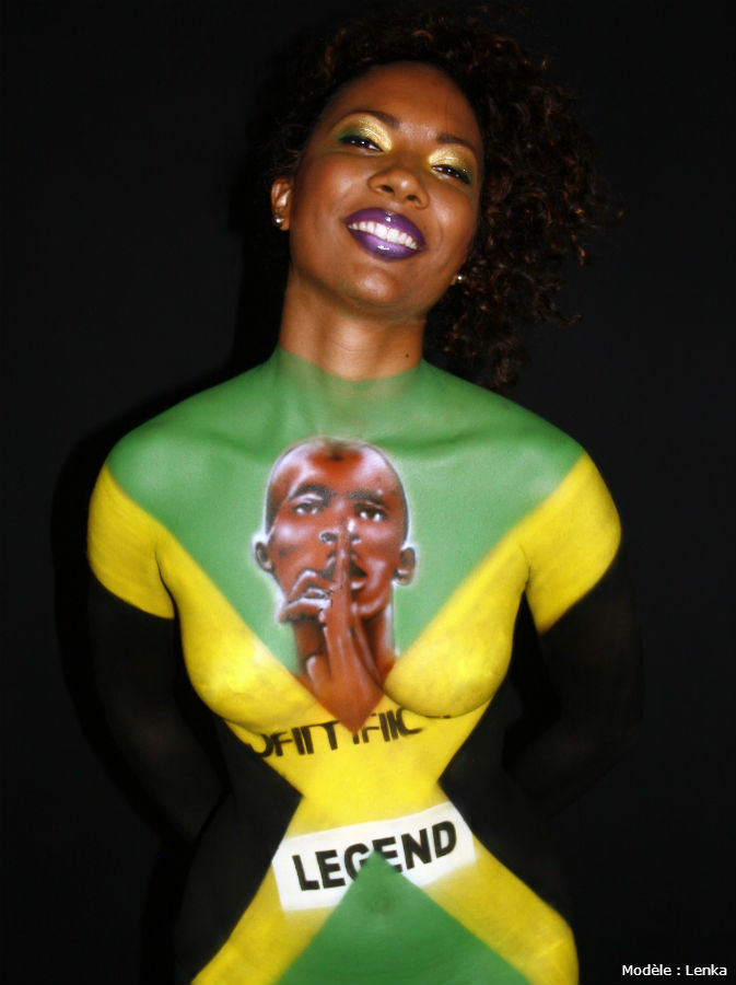 STEEK Bodypainting – I am legend