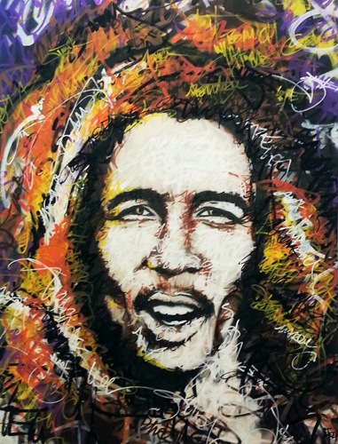 STEEK's Canvas – Bob 70×90