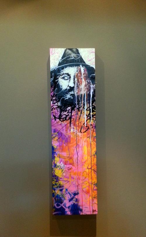 STEEK Canvas – Mr 30 x100