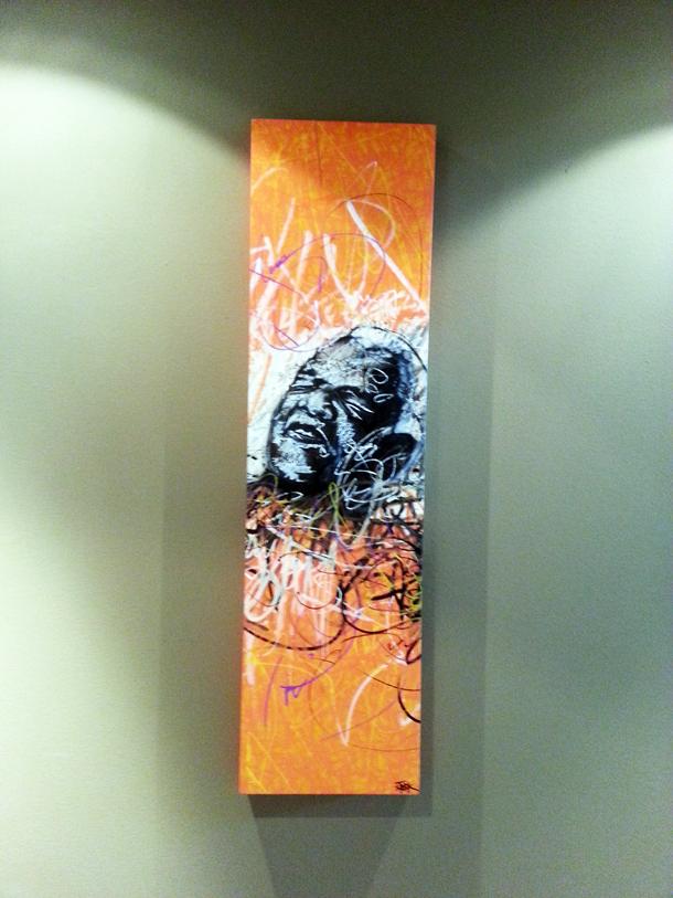 STEEK Canvas – Ray 30 x100