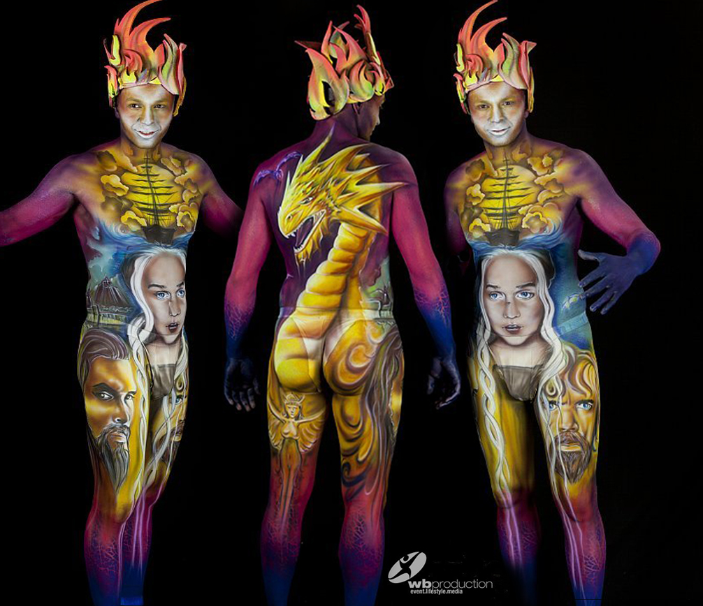 steek artiste graffeur bodypainter steekoner