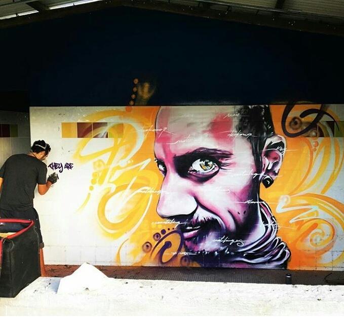 Steek Artiste Graffeur Steekoner