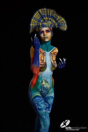 STEEK - Graffiti and Bodypainting Artist from Guadeloupe FWI